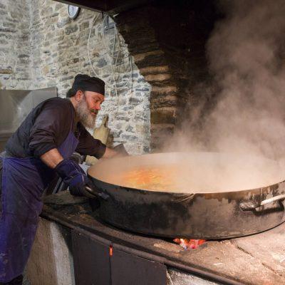 Gătitul in Sfântul Munte