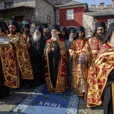 Vizita oficială a Patriarhului Ecumenic, Preafericirea sa Bartolomeu, la Vatopedi