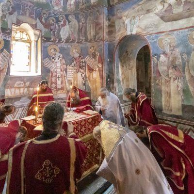 Sfântul Marcu Ascetul: Legea Duhovnicească - Fotoreportaj din Schitul Sfântul Dumitru