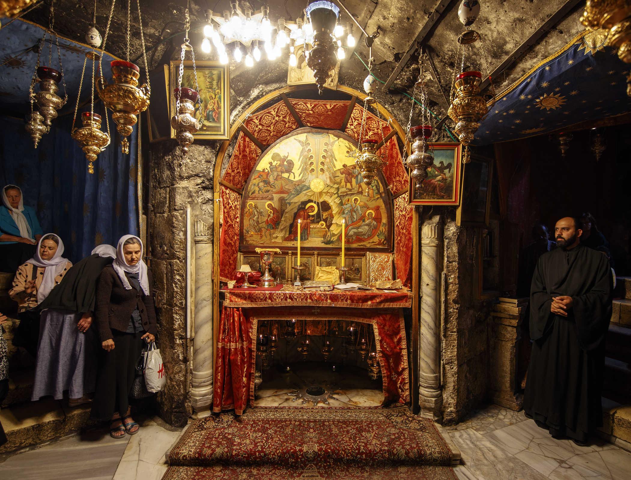 Un dar de Crăciun - Fotoreportaj de la Betleem