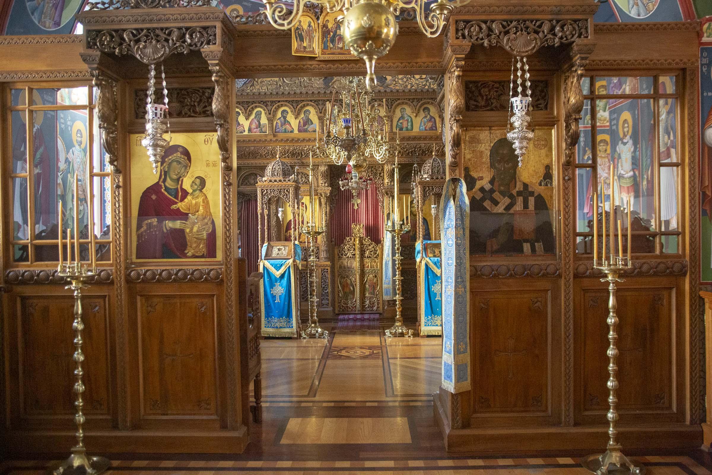 (C) Vatopedi monastery, Mount Athos