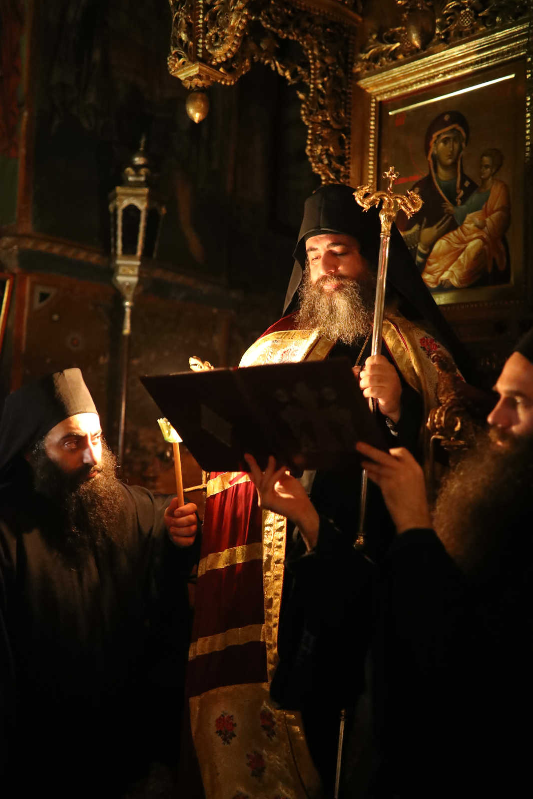The eight evil thoughts - Photo Journal from the feast of Saint Ephraim the Syrian - (C) Vatopedi monastery, Mount Athos