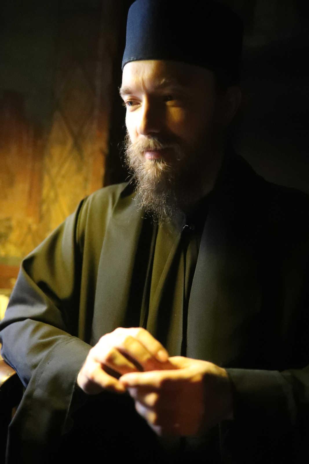 Preotul Ortodox - (C) Vatopedi monastery, Mount Athos
