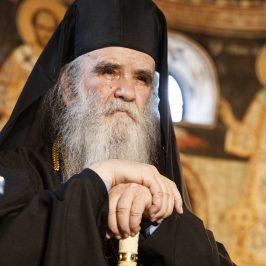 Amfilohie de Muntenegru: L-am uitat pe Dumnezeul-Om